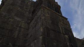 Καταστροφές Tomar - αψίδα πετρών απόθεμα βίντεο