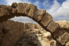 Καταστροφές Umm AR-Rasas - εθνική οδός του βασιλιά στην Ιορδανία Στοκ εικόνα με δικαίωμα ελεύθερης χρήσης
