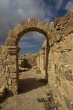Καταστροφές Umm AR-Rasas - εθνική οδός του βασιλιά στην Ιορδανία Στοκ Εικόνες