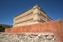 Καταστροφές Zapotec σε Mitla Μεξικό Στοκ Εικόνες