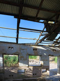 Καταστροφή αποδοκιμασιών στρατού σε EN Gedi, Ισραήλ Στοκ Φωτογραφία