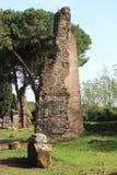 Καταστροφή ενός ρωμαϊκού ναού στη Ρώμη Στοκ Φωτογραφία