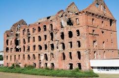 Καταστροφή μετά από τη μάχη Stalingrad στοκ φωτογραφία