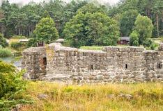 Καταστροφή οχυρών Ahus Στοκ εικόνα με δικαίωμα ελεύθερης χρήσης