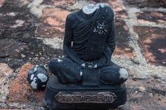 Καταστροφή ο επικεφαλής Βούδας Στοκ Εικόνες