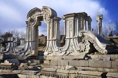 Καταστροφή-παλαιό θερινό παλάτι της Κίνας Πεκίνο Yuanmingyuan Στοκ Εικόνες