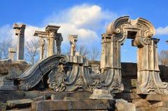 Καταστροφή-παλαιό θερινό παλάτι της Κίνας Πεκίνο Yuanmingyuan Στοκ εικόνα με δικαίωμα ελεύθερης χρήσης