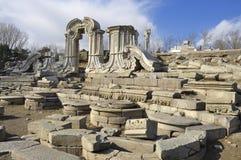 Καταστροφή-παλαιό θερινό παλάτι της Κίνας Πεκίνο Yuanmingyuan Στοκ εικόνες με δικαίωμα ελεύθερης χρήσης