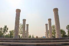 Καταστροφή-παλαιό θερινό παλάτι της Κίνας Πεκίνο Yuanmingyuan Στοκ φωτογραφία με δικαίωμα ελεύθερης χρήσης