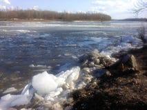 Καταστροφή στον ποταμό Στοκ φωτογραφίες με δικαίωμα ελεύθερης χρήσης