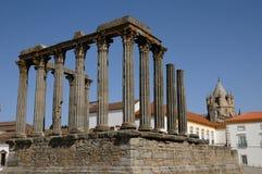 Καταστροφή του ρωμαϊκού antic ναού Στοκ εικόνες με δικαίωμα ελεύθερης χρήσης
