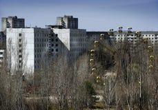 Καταστροφή 1986 του Τσέρνομπιλ Στοκ εικόνα με δικαίωμα ελεύθερης χρήσης