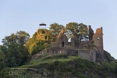 Καταστροφή του Castle στην ιστορική πόλη ALT ahrweiler Γερμανία Στοκ εικόνες με δικαίωμα ελεύθερης χρήσης