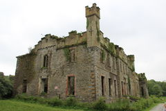 Καταστροφή του Castle Bernard Στοκ εικόνα με δικαίωμα ελεύθερης χρήσης
