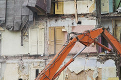 καταστροφή Στοκ εικόνα με δικαίωμα ελεύθερης χρήσης