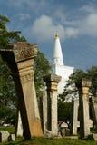 Καταστροφή Anuradhapura, Ruvanmali Maha Stupa, Σρι Λάνκα Στοκ Φωτογραφίες