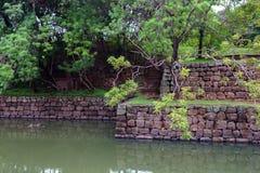 Καταστροφή Sigiriya σύνθετη Στοκ Εικόνες