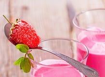 Καταφερτζής φραουλών Στοκ εικόνες με δικαίωμα ελεύθερης χρήσης
