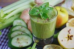 Καταφερτζής φρούτων και λαχανικών πρόγευμα υγιές Στοκ Εικόνα