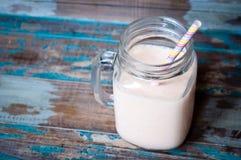 Καταφερτζής milkshake Στοκ Εικόνες