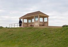 Καταφύγιο από τον αέρα σε Christchurch, Dorset Στοκ φωτογραφία με δικαίωμα ελεύθερης χρήσης