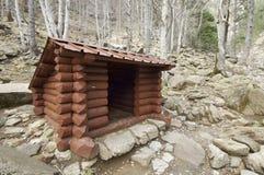 καταφύγιο ξύλινο Στοκ εικόνες με δικαίωμα ελεύθερης χρήσης