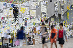 Καταλάβετε την κεντρική μετακίνηση, Χονγκ Κονγκ Στοκ Εικόνες