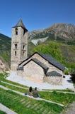 Καταλανική Romanesque εκκλησία του vall de Boi Στοκ εικόνα με δικαίωμα ελεύθερης χρήσης