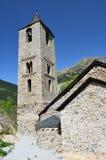 Καταλανική Romanesque εκκλησία του vall de Boi Στοκ Εικόνες