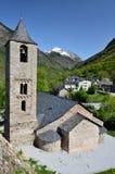 Καταλανική Romanesque εκκλησία του vall de Boi Στοκ Εικόνα