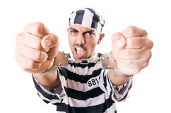 Καταδικάστε τον εγκληματία Στοκ εικόνα με δικαίωμα ελεύθερης χρήσης