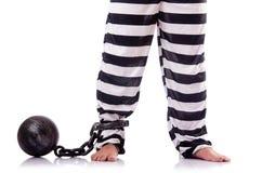 Καταδικάστε τον εγκληματία Στοκ Εικόνες