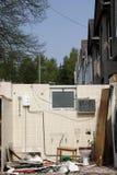 κατεδάφιση οικοδόμησης Στοκ εικόνα με δικαίωμα ελεύθερης χρήσης