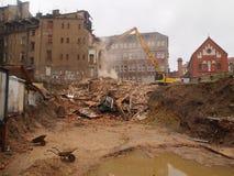 κατεδάφιση οικοδόμησης & Στοκ εικόνες με δικαίωμα ελεύθερης χρήσης