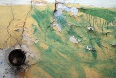 κατεστραμμένος τοίχος Στοκ φωτογραφίες με δικαίωμα ελεύθερης χρήσης