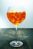 Κατεψυγμένο aperol spritz Στοκ Εικόνες