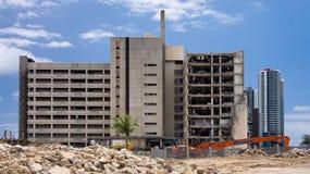 Κατεδάφιση νοσοκομείων Gold Coast Στοκ φωτογραφία με δικαίωμα ελεύθερης χρήσης