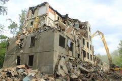 κατεδαφισμένο σπίτι Στοκ Φωτογραφία