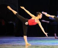 Κατηγορία-κατάρτιση κατάρτισης σώματος για το μπάρα-βασικό εκπαιδευτικό μάθημα χορού Στοκ Εικόνες