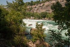 Κατηγορία 5 ορμητικά σημεία ποταμού στον ποταμό Niagara Στοκ φωτογραφία με δικαίωμα ελεύθερης χρήσης