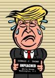 Κατηγορία του Ντόναλντ Τραμπ διανυσματική απεικόνιση