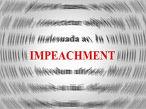 Κατηγορία Word για να κατηγορήσει το διεφθαρμένο Πρόεδρο ή τον πολιτικό διανυσματική απεικόνιση