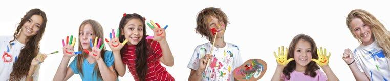 Κατηγορίες τέχνης παιδιών Στοκ φωτογραφίες με δικαίωμα ελεύθερης χρήσης