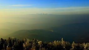 Κατηγορίες τοπίου: Βουνό Leng Jilin Changbai αμαρτίας που αγνοεί Setsurei Στοκ φωτογραφία με δικαίωμα ελεύθερης χρήσης