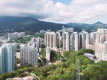 Κατοικήσιμη περιοχή της δύσης Χονγκ Κονγκ Στοκ Φωτογραφίες