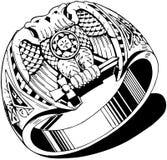 Κατοικήστε το δαχτυλίδι απεικόνιση αποθεμάτων