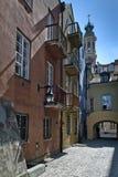 κατοικία Βαρσοβία σπιτιώ&n Στοκ φωτογραφίες με δικαίωμα ελεύθερης χρήσης