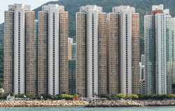 κατοικία της Hong kong στοκ φωτογραφία