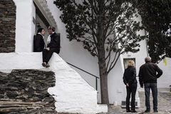 Κατοικία Cadaques, Ισπανία του Δαλιού Στοκ εικόνες με δικαίωμα ελεύθερης χρήσης