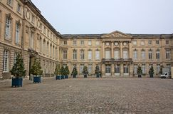 Κατοικία Compiegne - το παλάτι των γαλλικών βασιλιάδων Στοκ φωτογραφία με δικαίωμα ελεύθερης χρήσης